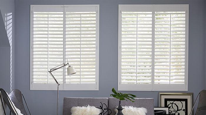 plantation shutters blinds.com simplicity wood shutter VZMQBEA