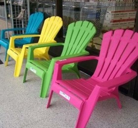 plastic adirondack chairs lowes colour may vary ZUVBAJT
