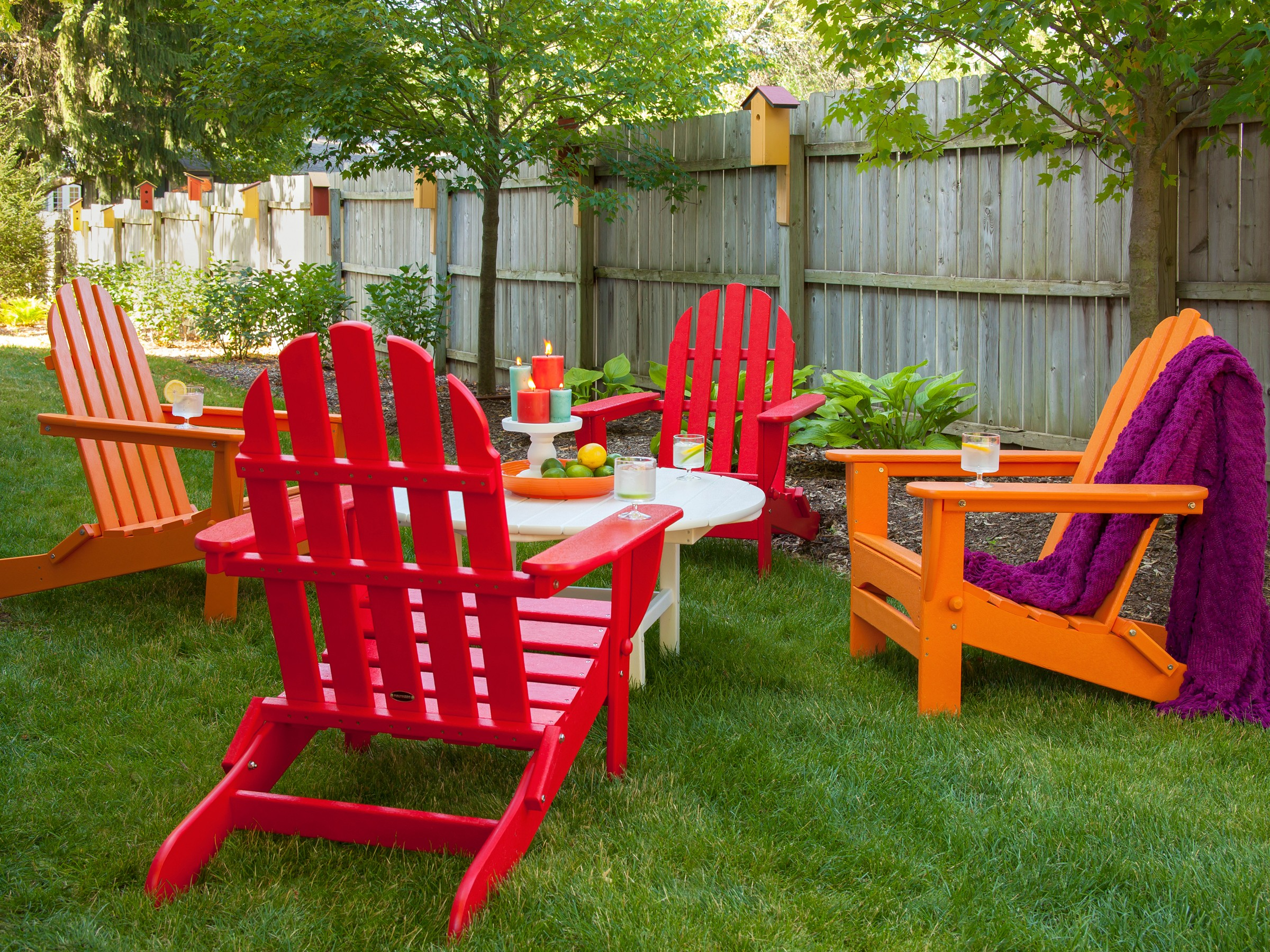 plastic adirondack chairs ... recycled plastic adirondack folding classic chair set image ... GSCQEKV