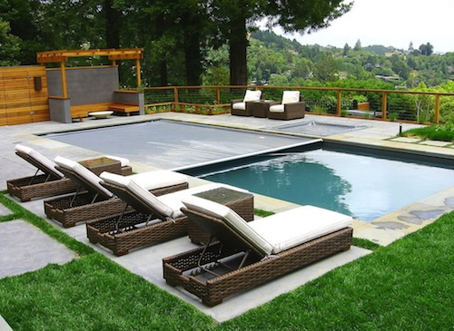 pool furniture - barnsdall home design IFRQFYH