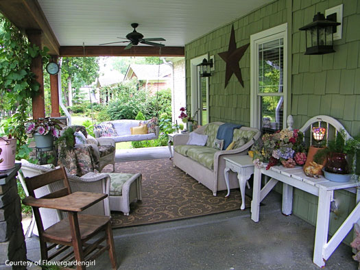 porch furniture furnished porch QXZZHTD