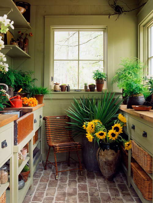potting shed inspiration for a timeless gardening shed remodel in atlanta CWHKLZB