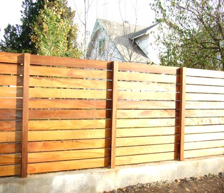 privacy fence gives privacy without being antisocial. BKNJHDN