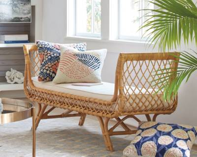 rattan furniture grandin road offers indoor furniture covering this important range of  honest materials, bringing the best elements GMNAMYY