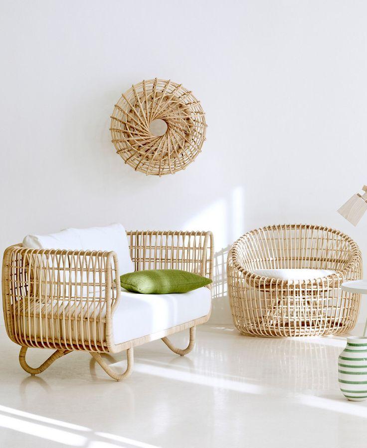 rattan furniture rattan armchair nest lounge by cane-line | #design foersom u0026 hiort-lorenzen EGZHWGK