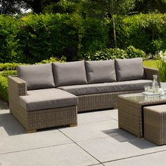 rattan garden furniture rattan corner sofa sets WGZDWJE