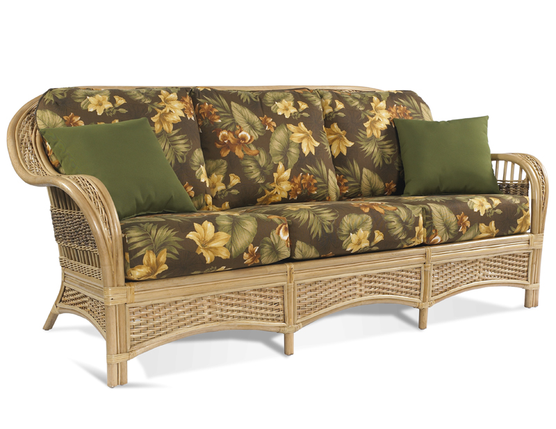 rattan sofa - tropical breeze GMCDKHX