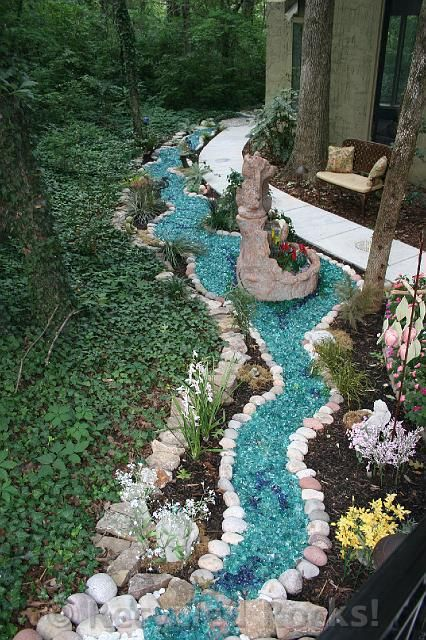 recycled glass landscape | recycled rocks! - glass landscaping rocks CAGRTGS