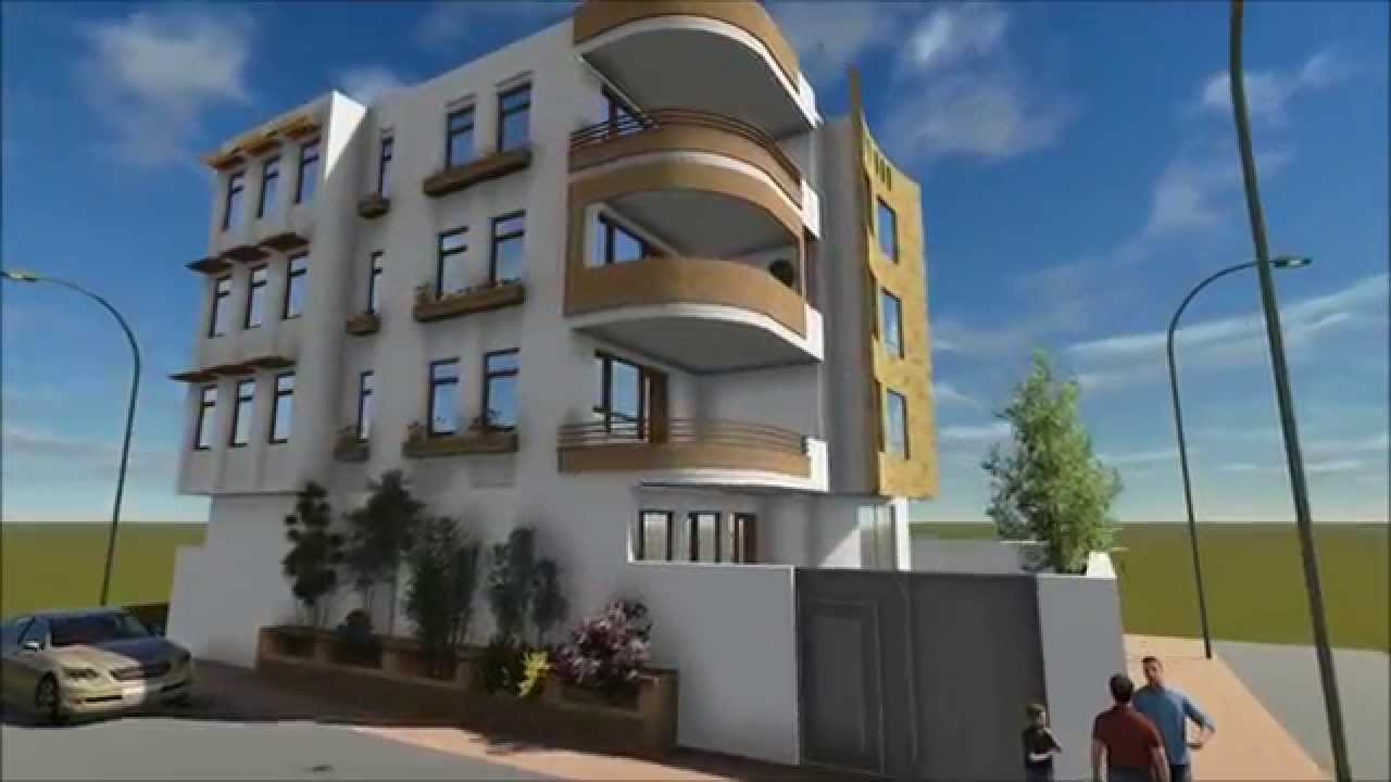 residential building design and 3d animation - youtube OJBWZYK