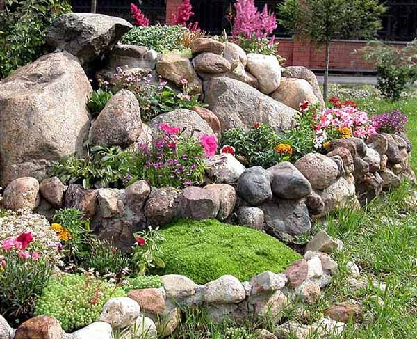 rock garden design tips, 15 rocks garden landscape ideas VEYAHDB