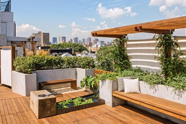 roof garden design u0026 ideas (houseandgarden.co.uk) YRTZFPI