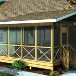 screened in porch family home