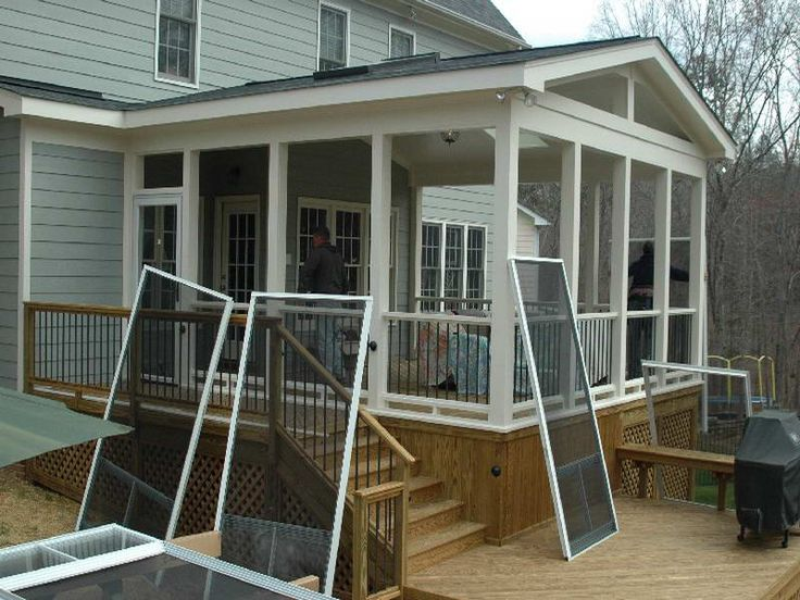 screened in porches | screened in porch ideas with the repairment QFGRLNC