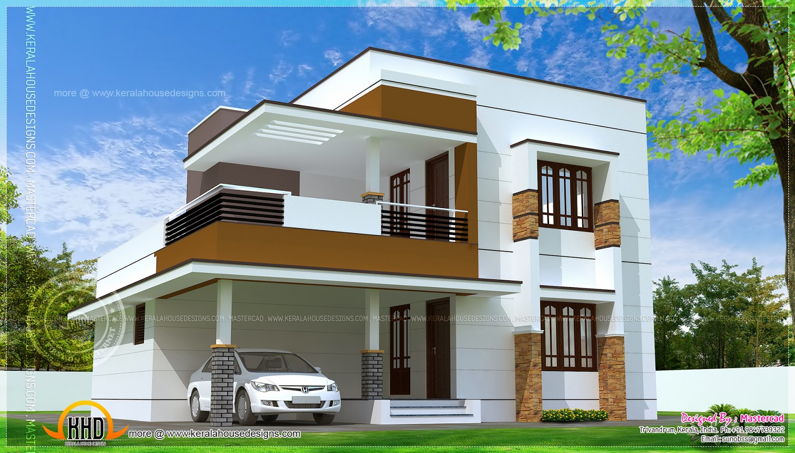 simple house design modern house plans erven 500sq m | simple modern home design in 1817 square  feet FDKAEBU