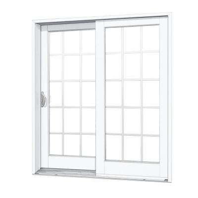sliding patio doors 72 in. x 80 in. composite left-hand smooth interior with 15- LDBIPEI