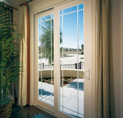 sliding patio doors milgard® vinyl door frame colors HBSWURN