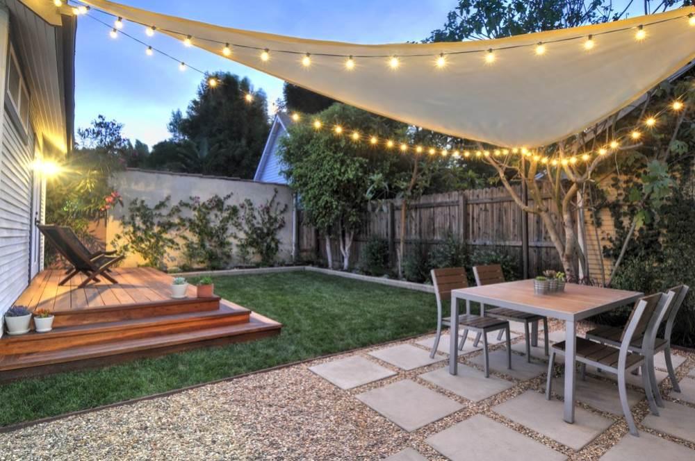 small backyard ideas small-backyard-hill-landscaping-ideas-to-get-cool- BMMQEXA