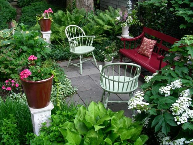 small garden design small garden, big interest eric sternfels (homeowner) philadelphia, pa QEVVMUJ