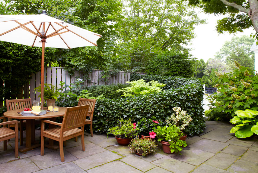 small garden ideas patio garden HOLLGHS