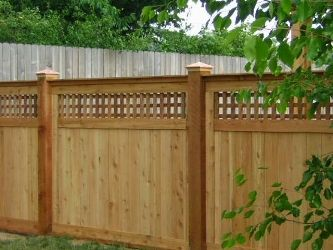 someday we will have a privacy fence like this in our backyard! KJSPCRK