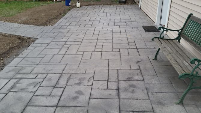 stamped concrete uploaded 2 years ago CCOMAIG