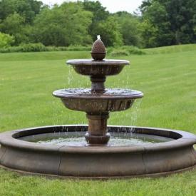 stone garden fountains YIAQZDJ
