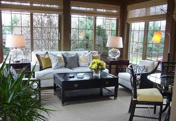 sunroom furniture view in gallery cozy sunroom PVKEVZP