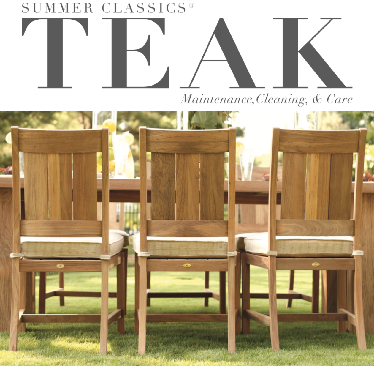 teak furniture summer classics teak is made of the highest quality slow growth plantation  raised teak. teak VGJDIZC