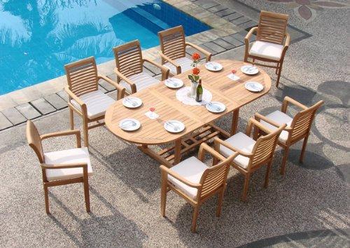 teak outdoor furniture how to care for teak patio furniture ... CDZKDWT