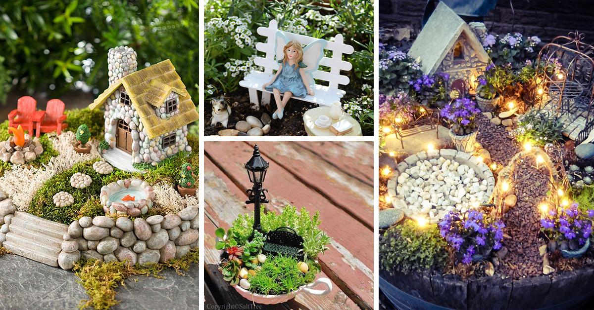 the 50 best diy miniature fairy garden ideas in 2017 KNWSBHV