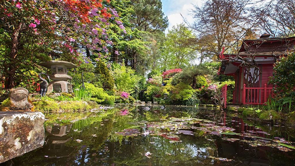 the japanese garden OUTENMI