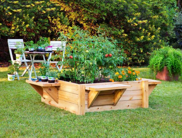 these are really sharp looking raised garden beds. beyond the beauty that  the wood brings to MANFZZG