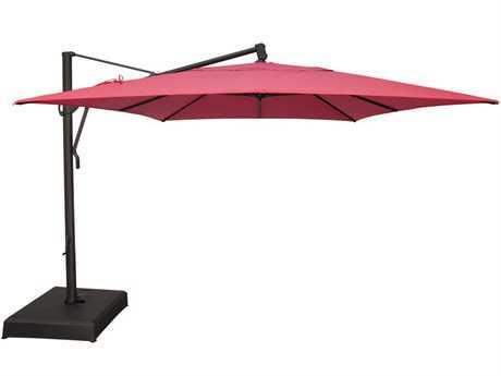 treasure garden cantilever aluminum 10 x 13 foot cantilever umbrella YRVVSAL