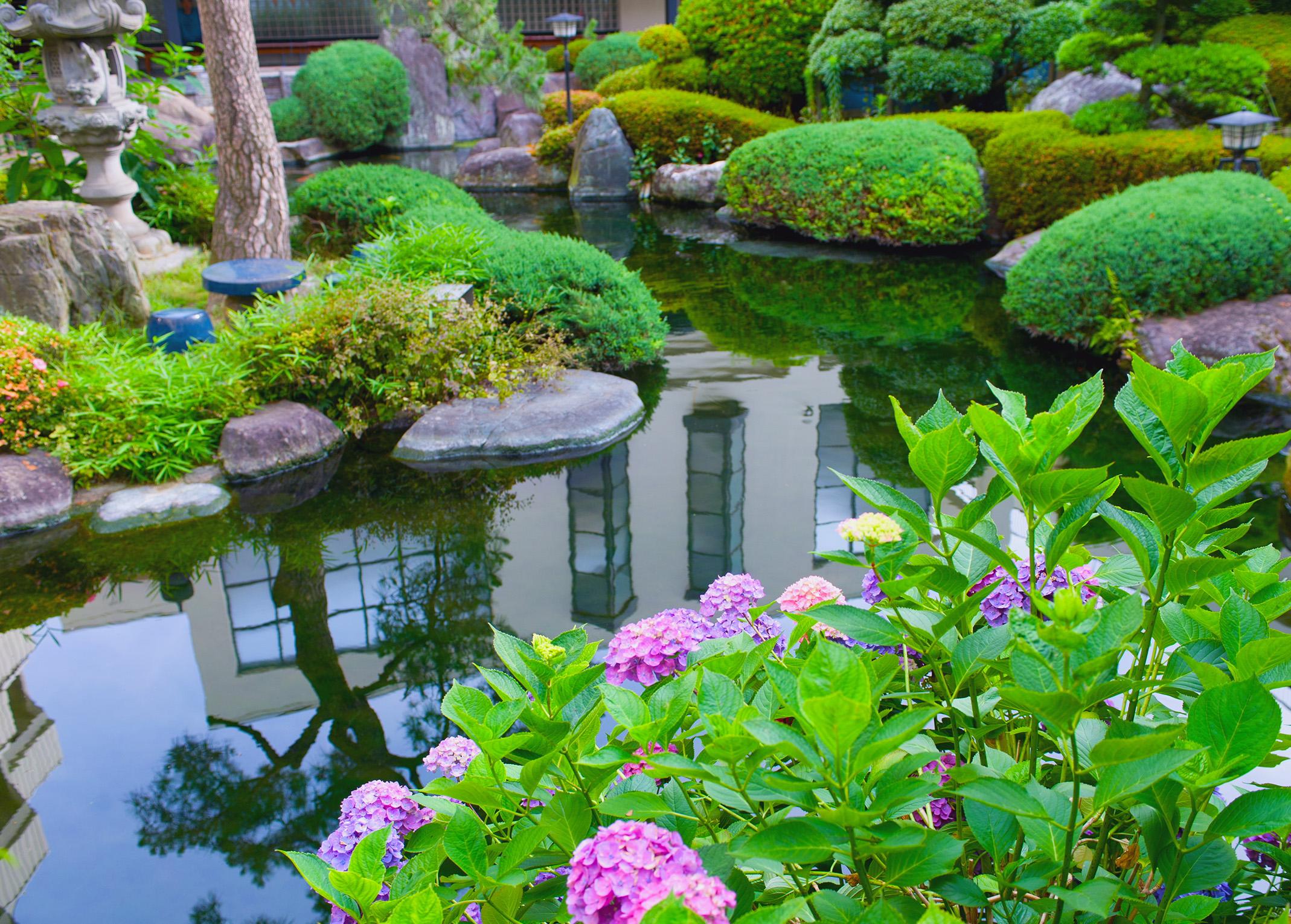 water gardens - nualgi ponds ZJXSBON