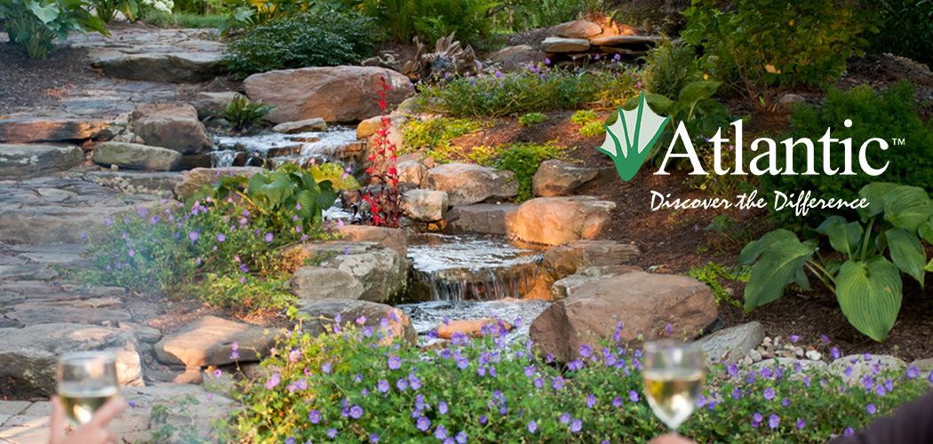water gardens waterfall OCFUSEE