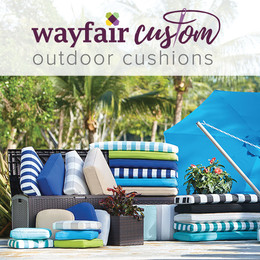 wayfair custom outdoor cushions LSZSLAT