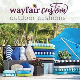 wayfair custom outdoor cushions LSZSLAT