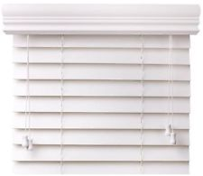 window blinds faux wood EXRGYJC