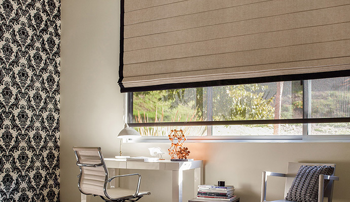 window shades roman shades DCCUWED