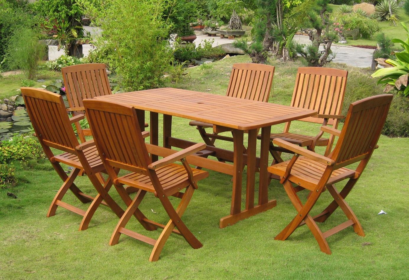 wooden garden furniture MVTWDID