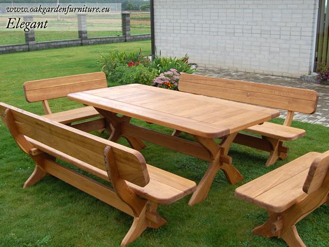 wooden garden furniture sets HASDBLO
