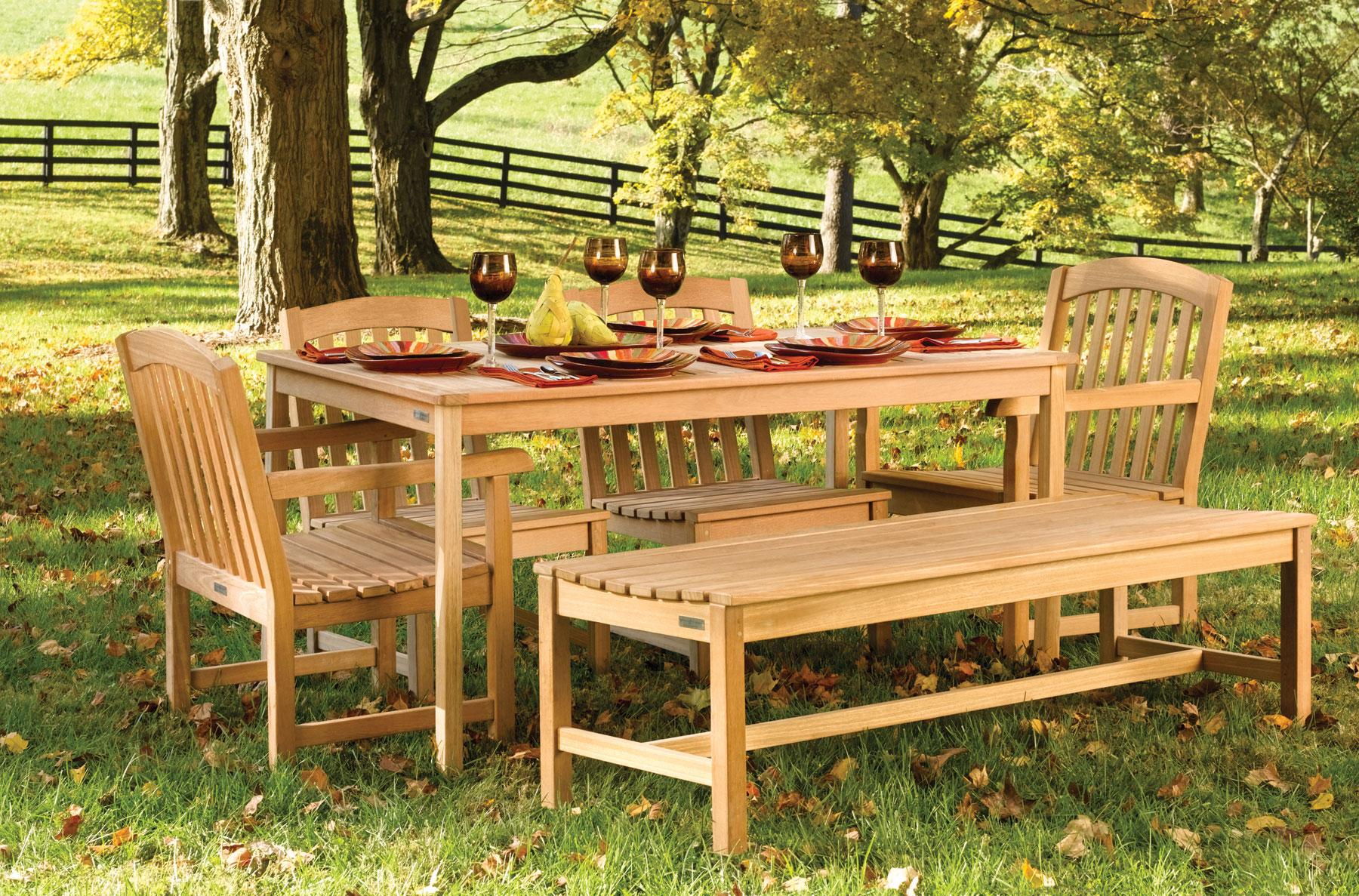 wooden garden furniture to accentuate your fabulous garden area | home  garden design UGMXUZQ