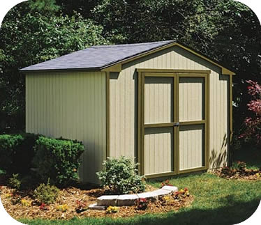 wooden sheds handy home cumberland 10x8 wood storage shed w/ floor EGWFRDG