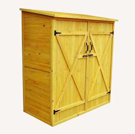 wooden sheds leisure season 5x3 medium wood storage shed kit HPPSCVK