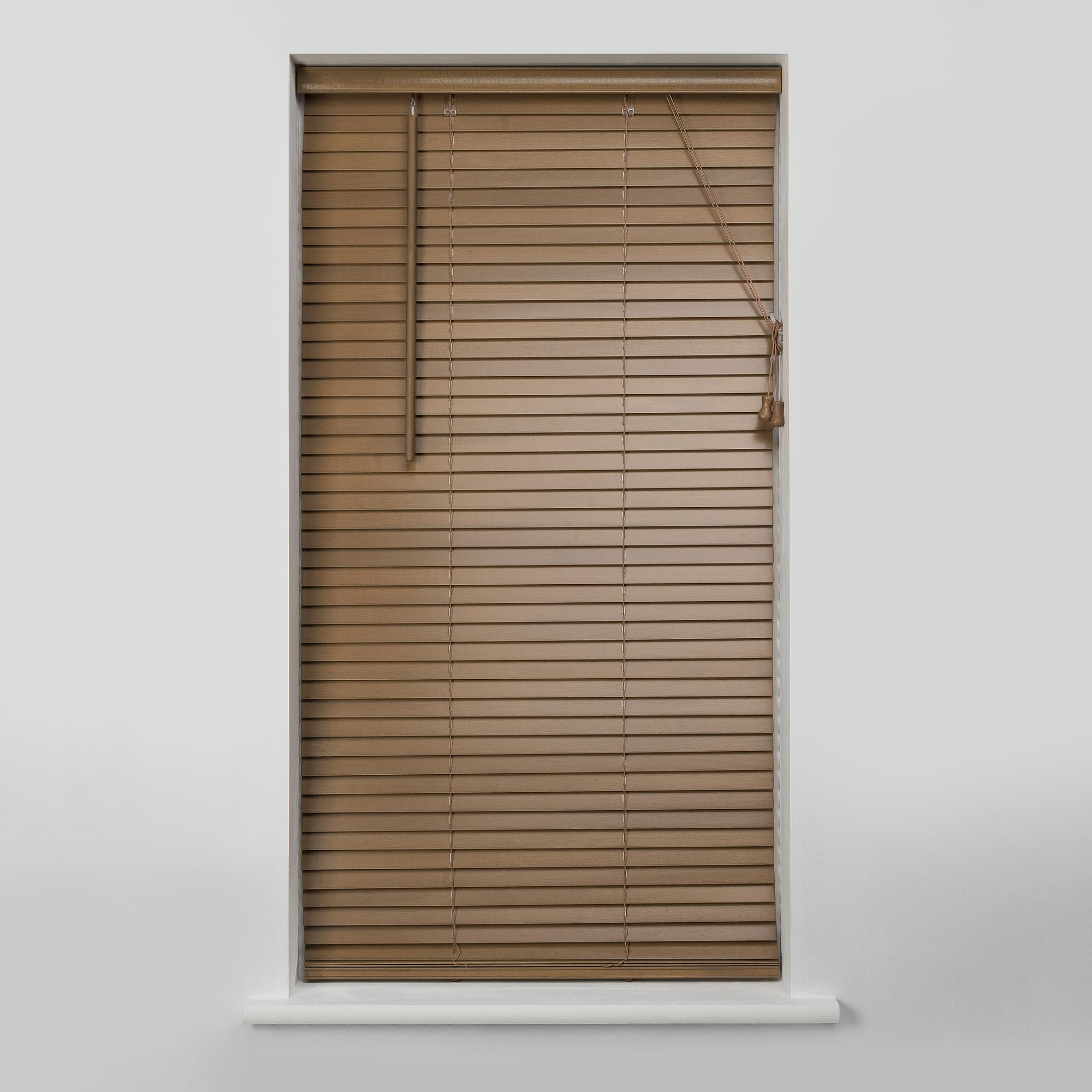 wooden venetian blinds 27mm oak wooden venetian blind ABWUKYZ