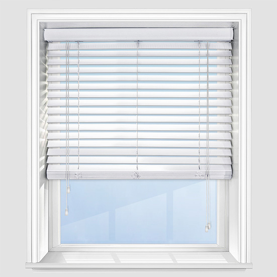 wooden venetian blinds premier pure white wooden venetian blind QFCTSVD