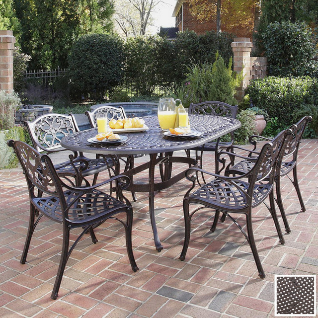 wrought iron patio furniture aluminum versus wrought iron outdoor patio furniture FDXZHHC