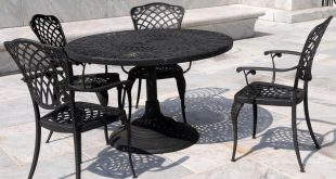 wrought iron patio furniture PEUWHCW
