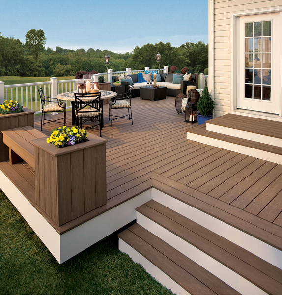 you can be sure of a plastic decking to last you long - decorifusta TQVUJEL