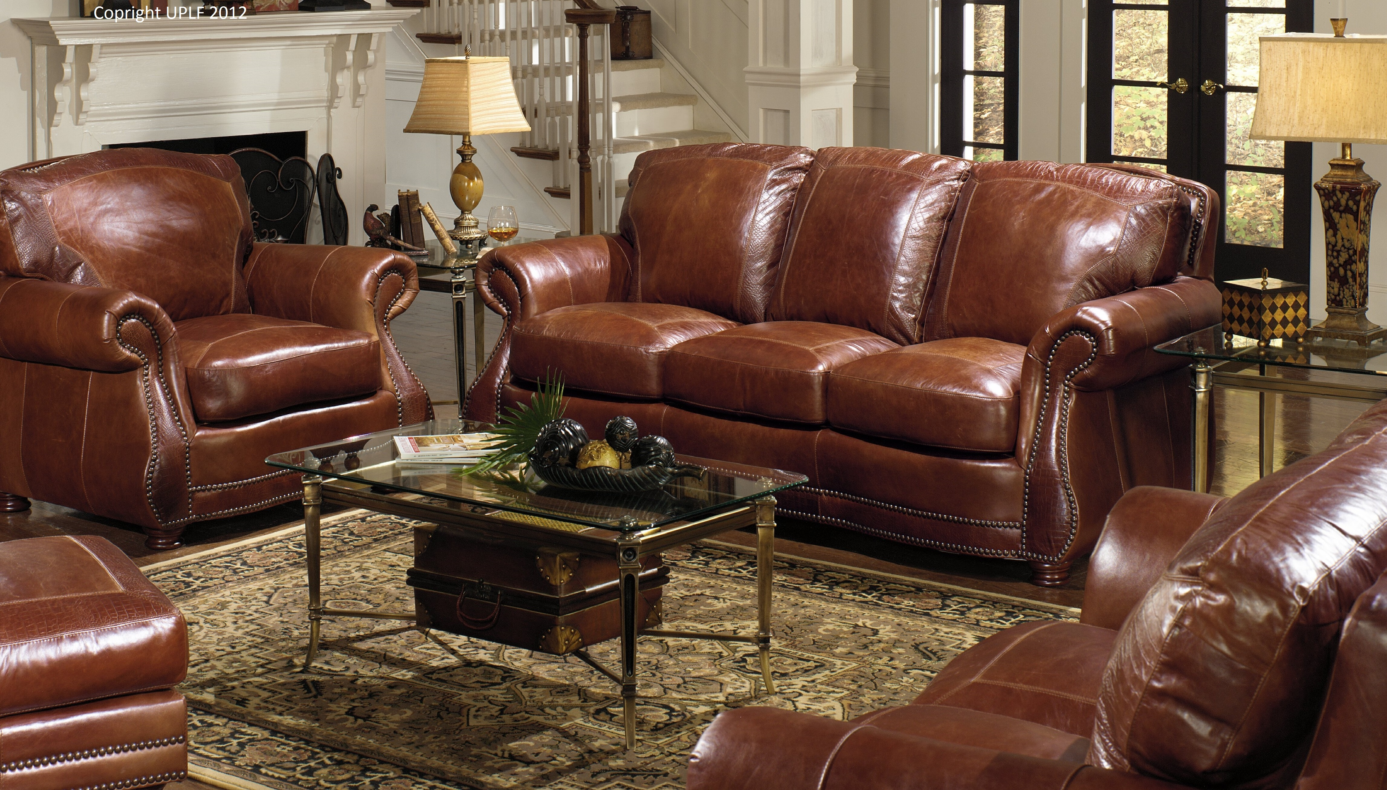 « usa premium leather furniture ULHAHVR